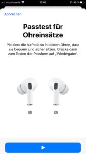 Apple AirPods Pro App