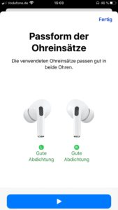 Apple AirPods Pro App