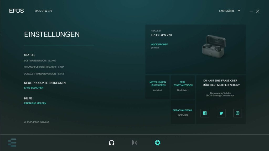 EPOS Gaming Suite