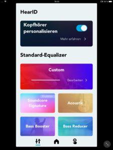 Klanganpassung I__Soundcore App