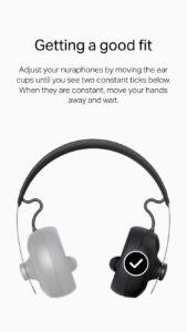 Nura Nuraphone App Fit
