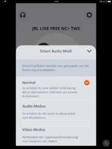 Smart Audio-Modi_JBL App