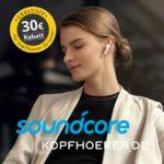 Exklusiv: Soundcore Kopfhörer kaufen und satte 30 Euro sparen!