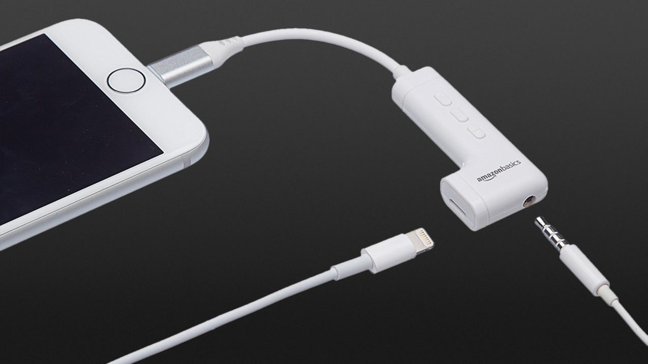 AmazonBasics Lightning Audio-Adapter