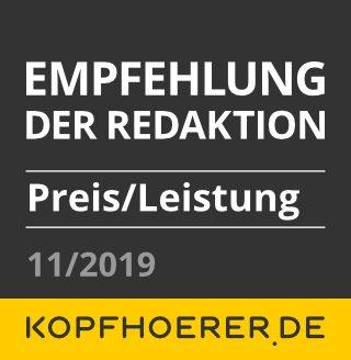 Lypertek TEVI Test bei kopfhoerer.de